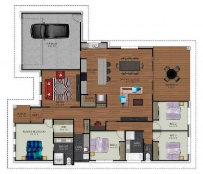 The Karumba - Floor Plan