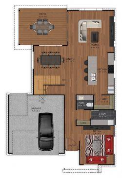 The Lukin - Ground Floor Plan